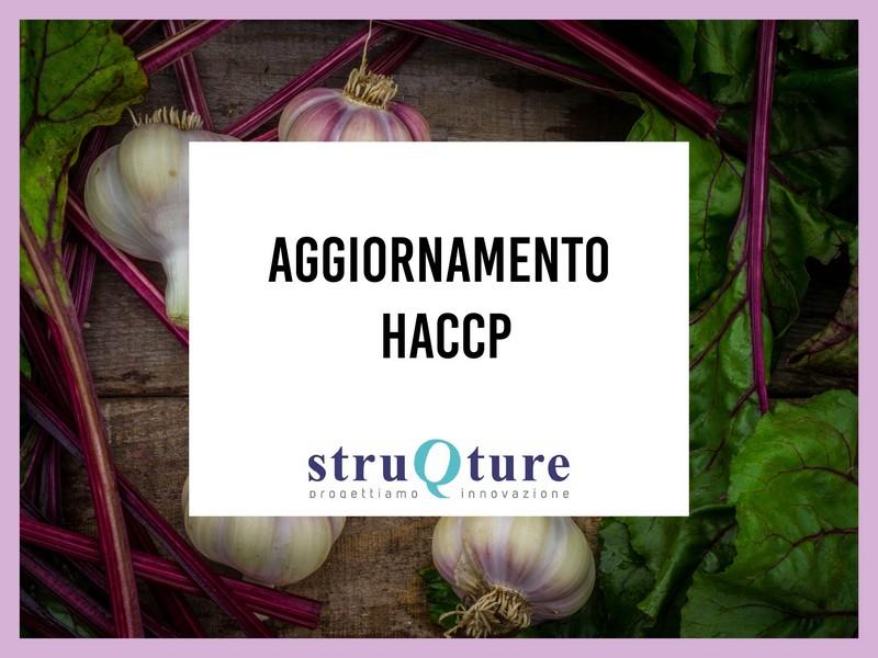 Aggiornamento corso HACCP - entrambi i settori